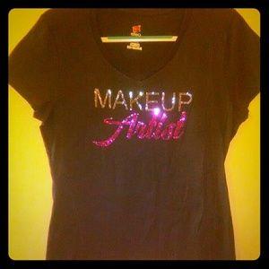 Tops - Makeup Artist T-Shirt